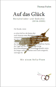 Frahm-Auf das Glueck-Gedichtband Cover vorn